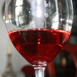 A glass of Cerasuolo