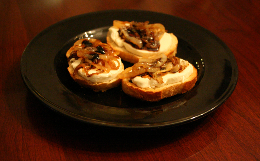 Goat Cheese and Onion